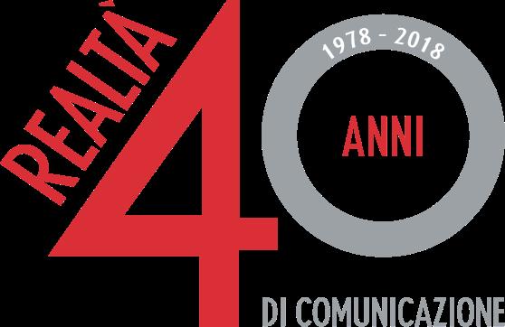 Logo Realtà 40 anni