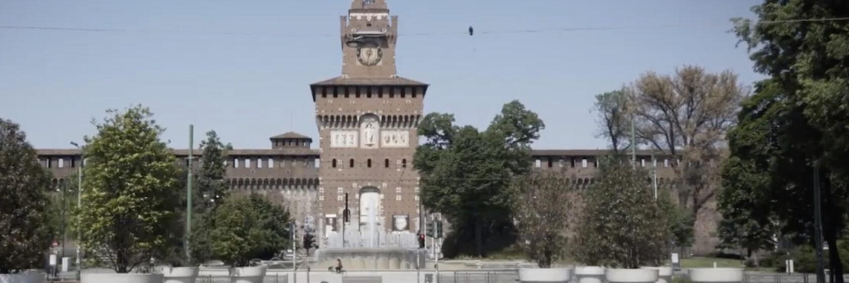 piazza castello vuota covid 19